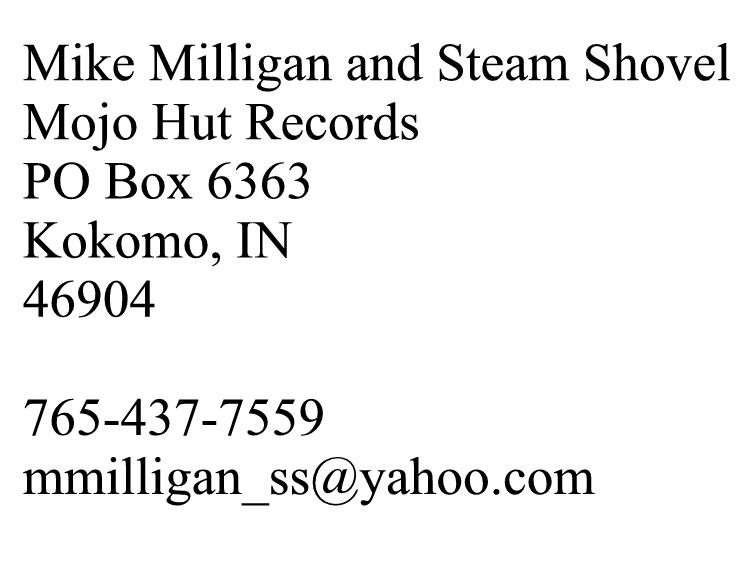 mike milligan and steam shovel